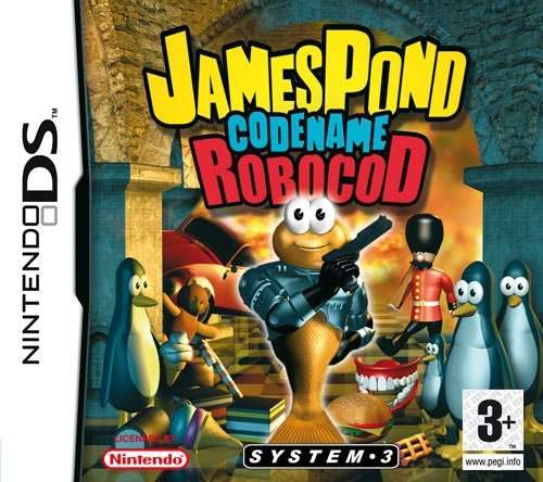 Play It James Pond Codename: Robocod, NDS