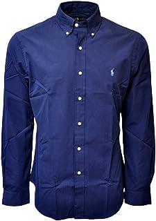 Polo Ralph Lauren Men's Big and Tall Solid Poplin Sport Shirt