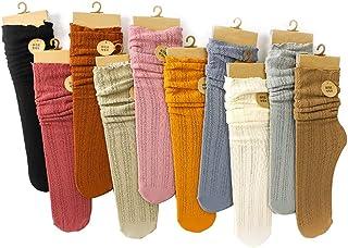 Tulle Sock Women Lace Fishnet Ankle Net Yarn Socks Ultra-Thin Slouch Socks High Socks Girls Fashion Sexy Hosiery 10 Pair