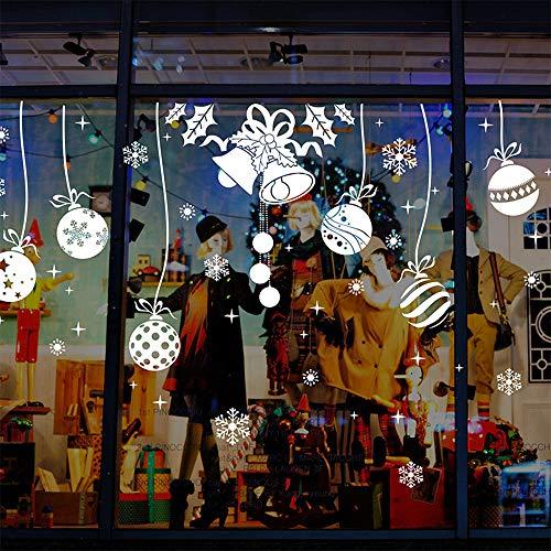 heekpek Navidad Decoración De La Hogar y La Tienda De Vinilo Ventana Pegatinas De Pared De Puerta De La Ventana...