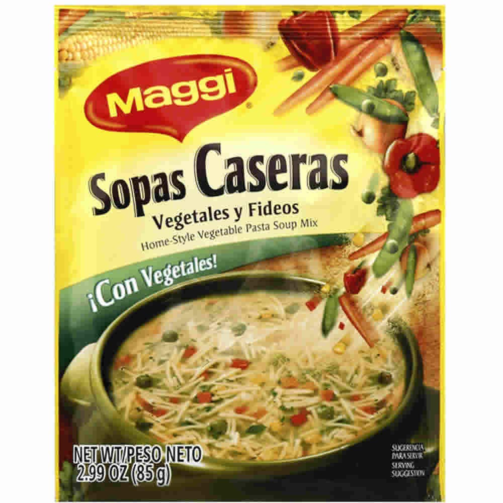 Maggi Sopas Caseras Vegetable 2.99-Ounce of 12 2021new shipping free shipping Pack Special sale item