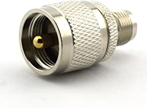 Maxmoral UHF Male to TNC Female PL-259 PL259 Connector RF Coax Coaxial Adapter