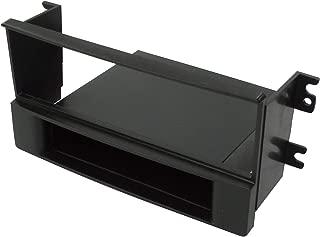 AERZETIX 2DIN Car radio front frame adapter C40977 black fascia transformer