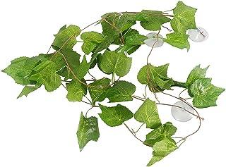YOGURTCK 94 inch Long Vines Artificial Plants for Reptiles and Amphibians Terrariums Decorations Supplies