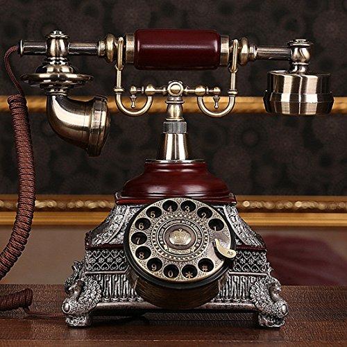 Amerikaanse Roterende Klassieke Telefoon Antieke Vintage Continentaal Pastorale Retro Telefoon Vaste Stand Home Machine, Roterende Plaat
