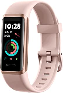Fitness Tracker 2021 Version, Watches for Women Men with Customized Watch Face Touch Screen Alexa Built-in, Blood Oxygen & Heart Rate Monitor Sleep Tracker IP68 Swimming Waterproof