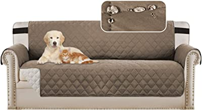 Sofa Protectors Waterproof from Pets/Dogs/Kids Sofa Covers 3 Seater Couch Covers Soft Quilted Furniture Protector with Non...