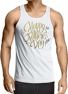 lepni.me 男性用ベスト 父の日お父さん、夫、祖父へのプレゼントに最適。 (XL ホワイト 多色)