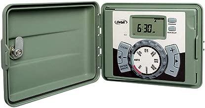 Orbit 57896 6-Station Outdoor Swing Panel Sprinkler System Timer (Renewed)