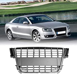 wangjianbin Emblema del Logo del Distintivo della Griglia della Rete A Nido dApe dellautomobile 1pcs per Audi S3 S4 S5 S6 S7 S8 Rs3 Rs4 Rs5 Rs6 Rs7 Rs8 Sq3 Sq5 Sq7