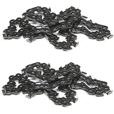 Double Pitch Chain Large Roller 2.89 Length 2 Pitch Pack of 5 Senqcia Inspire Series C2082SSOL 304 Stainless Steel Offset Link
