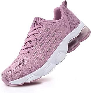 BEITA Women's Tennis Shoes Fashion Sneakers for Teen Girls, Big Kids, Youth Girls Lightweight Air Cushion Pink