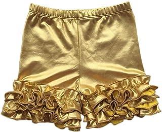 FidgetGear Girls Kids Ruffle Icing Shorts Boutique Bottoms Summer Baby Bloomers Pants 6M-8Y
