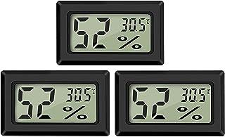 Thlevel LCD digital temperatur luftfuktighet meter termometer, mini digital termometer hygrometer och luftfuktighetsmätare...