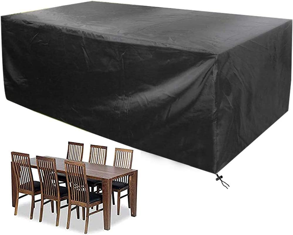 Max 66% OFF UCARE Discount mail order Patio Table Cover Rectangular 210D Waterproof Oxford Prote