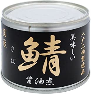 伊藤食品美味しい鯖醤油煮6号缶190g×24個入
