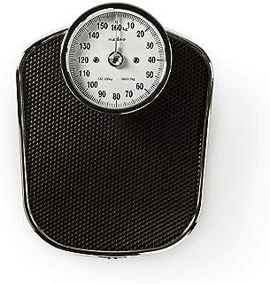 Nedis Báscula personal Nedis - Báscula Personal Analógica - Diseño Retro - Máx. 160 kg - Negro Negro