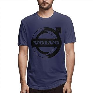 Green 100/% Organic Cotton Unisex Straight Fit T-Shirt Volvo Iron Mark Tee Shirt