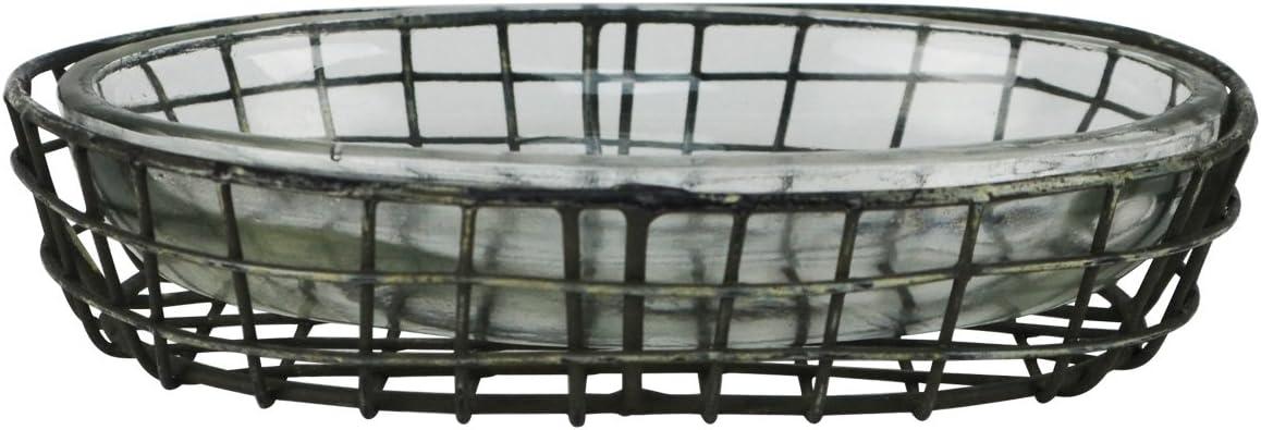 TG Max 51% OFF LLC Treasure Gurus Primitive Sale special price Style Metal Glass So Wire Bath