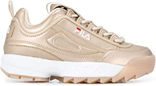 Fila Luxury Fashion Womens 101074780C Gold Sneakers | Fall Winter 19