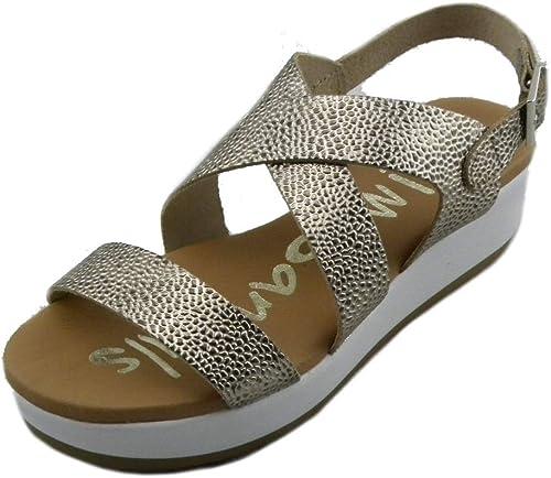 Oh  My sandals 4224 Cava E190418 Sandales Confortables pour Femme