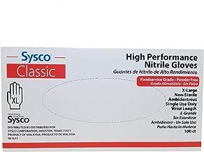 SYSCO HIGH Performance Nitrile Gloves Size XL Powder Free - 100 Gloves per Box