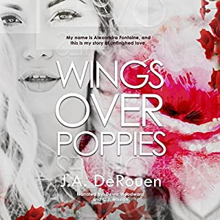 Wings Over Poppies audiobook cover art
