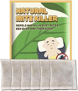 Goolfly Natural Herbal Mite Exterminating Pad Mite Killer 6PCS