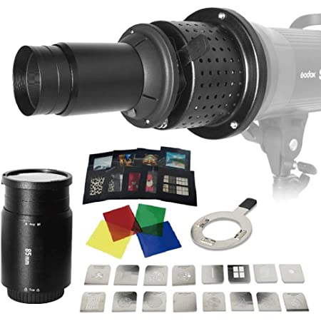 Kondensator Schwarz Optical Snoot With Gobos Kamera