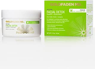 Sponsored Ad - GOLDFADEN MD Facial Detox Mask | Clarifying Face Mask w/Zinc Oxide, Sulfur, Salicylic Acid & Grapefruit | P...