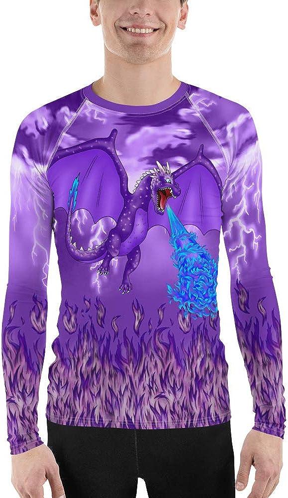 Phenotype Excellence Rashguards Men's Purple Dragon Lightning OFFicial store Storm