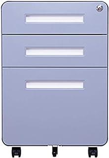 LiChaoWen Armoire à tiroirs sous la Meuble de Bureau Armoire Mobile Armoire Basse Armoire Trois tiroirs Armoire Armoire Ar...