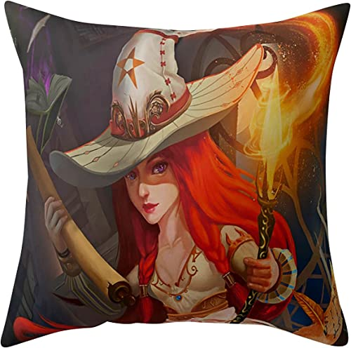 """wholesale 18""""x18"""" outlet sale Halloween Throw Pillow Covers Halloween Decorative Couch Pillow sale Cases Square Cushion Cover for Sofa, Couch, Bed and Car, Halloween Decoration (#05) online sale"""