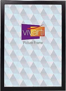 Vivarti Thin Matt Black Picture Frame, A3 Size, 29.7 x 42 cm