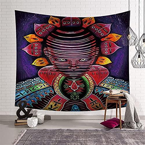 PPOU Tapiz Grande para decoración de habitación, Tapiz de Asistente para Colgar en la Pared, decoración Mandala Boho Hippie, Tapiz para decoración del hogar A9 100x150cm
