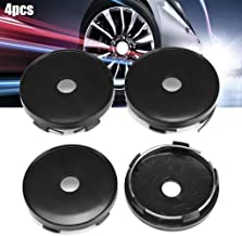 4 Pieces 60Mmx56Mm Wheel Center Caps Wheel Hub Covers For Universal Car For Msw Type 85 For Rial Imola Wheels Black