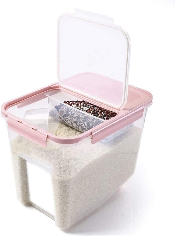 ACCDUER Grain bin Rice Container Storage Box kg 10 Kitche Boston Mall Max 77% OFF