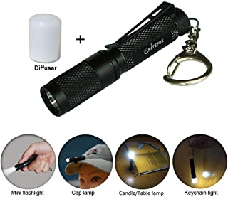 featured product Mini AAA Keychain flashlight K3,high bright 150 lumens 3 levels,multipurpose as caplight camplight tablelight,small bright waterproof torch for EDC,reading,sleep,dog walking,camping,hiking, Emergency