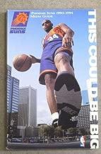 PHOENIX SUNS NBA BASKETBALL MEDIA GUIDE - 1993 1994 - NEAR MINT