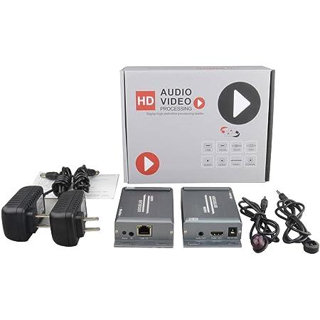 Mirabox HDMI Extender (HSV891IR HDMI Over IP Extender IR TX RX)
