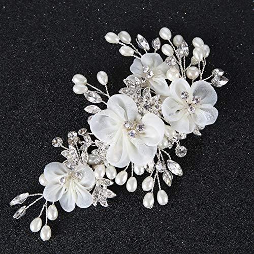 Tiara haarspeld bruid hoofddeksel haaraccessoires retro vrouwelijke hoofdbloemen bloemen jurk accessoires eenvoudig exquisiet elegant fotografie party dagelijks performing handgeweven