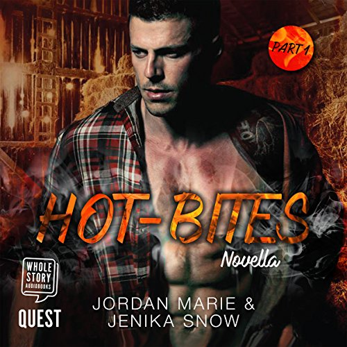 Hot-Bites Novella Pt 1 audiobook cover art