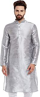 Larwa Men's Silk Kurta