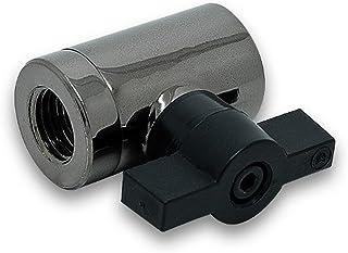 """EKWB EK-AF G1/4"""" 10mm Ball Valve Black Nickel"""