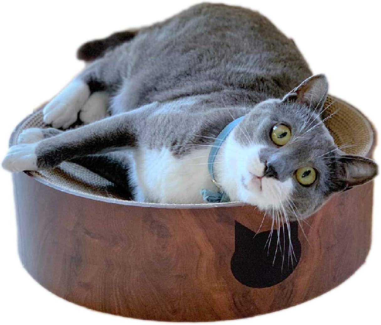NECOICHI Cozy Cat Scratcher Bowl