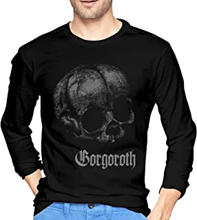 Man Gorgoroth Quantos Possunt Ad Satanitatem Fashion Music Band Long Sleeves Tee Shirt Gift