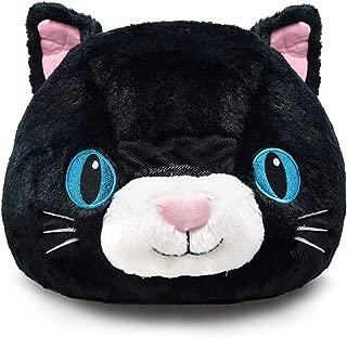 Plush Animal Head Mask Costume   Fun Furry Mascot Head with Mouth Opening