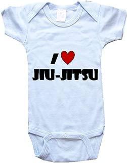 BigBoyMusic I Love JIU-Jitsu Baby One Piece Bodysuit