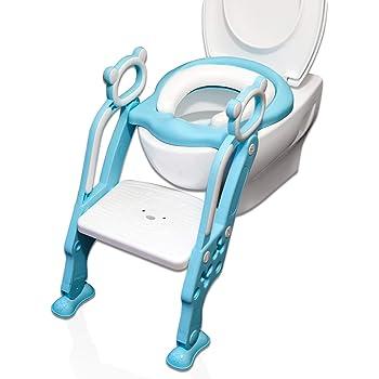Toilettentrainer blau-weiss