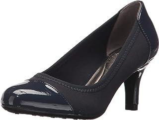 حذاء باريجي المطاطي للنساء من لايف سترايد, (Lux Navy), 7 X-Wide